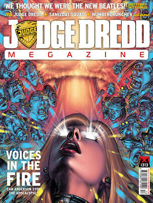 JUDGE DREDD - THE MEGAZINE - ISSUE 313 with SUPPLEMENT (2000AD) - *NEW - 2011