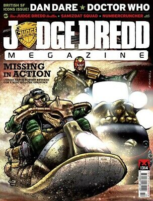 JUDGE DREDD - THE MEGAZINE - ISSUE 314 with SUPPLEMENT (2000AD) - NEW - 2011