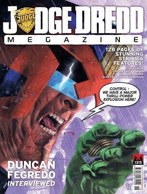 JUDGE DREDD - THE MEGAZINE - ISSUE 315 with SUPPLEMENT (2000AD) - NEW - 2011