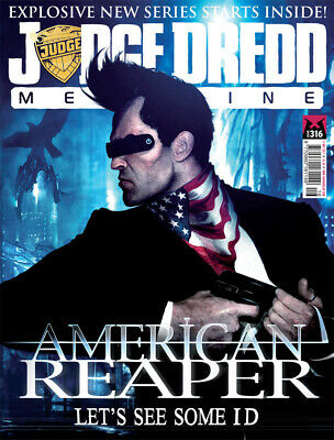 JUDGE DREDD - THE MEGAZINE - ISSUE 316 with SUPPLEMENT (2000AD) - NEW - 2011