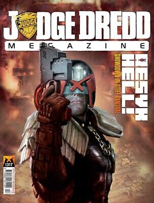 JUDGE DREDD - THE MEGAZINE - ISSUE 317 with SUPPLEMENT (2000AD) - NEW - 2011