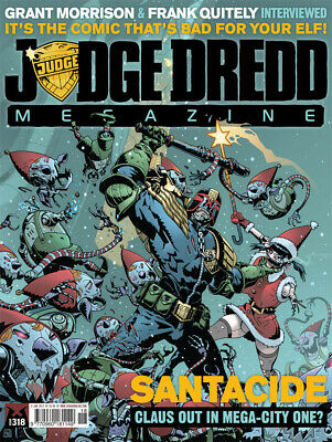 JUDGE DREDD - THE MEGAZINE - ISSUE 318 with SUPPLEMENT (2000AD) - NEW - 2012