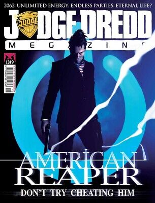 JUDGE DREDD - THE MEGAZINE - ISSUE 319 with SUPPLEMENT (2000AD) - NEW - 2012