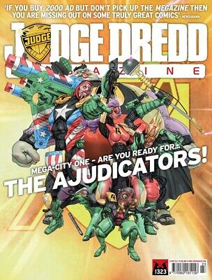 JUDGE DREDD - THE MEGAZINE - ISSUE 323 with SUPPLEMENT (2000AD) - NEW - 2012