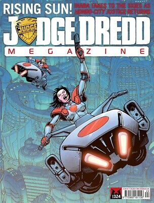 JUDGE DREDD - THE MEGAZINE - ISSUE 324 with SUPPLEMENT (2000AD) - NEW - 2012