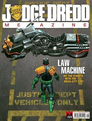 JUDGE DREDD - THE MEGAZINE - ISSUE 325 with SUPPLEMENT (2000AD) - *NEW - 2012