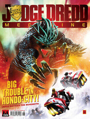 JUDGE DREDD - THE MEGAZINE - ISSUE 326 with SUPPLEMENT (2000AD) - NEW - 2012