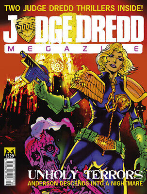 JUDGE DREDD - THE MEGAZINE - ISSUE 329 with SUPPLEMENT (2000AD) - NEW - 2012