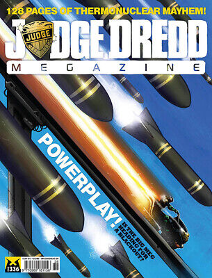 JUDGE DREDD - THE MEGAZINE - ISSUE 336 with SUPPLEMENT (2000AD) - NEW - 2013