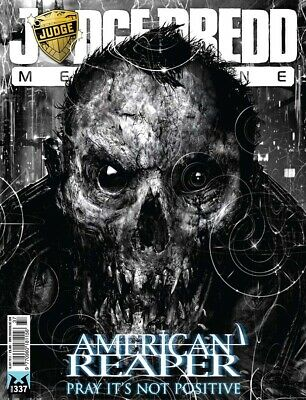 JUDGE DREDD - THE MEGAZINE - ISSUE 337 with SUPPLEMENT (2000AD) - NEW - 2013