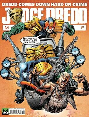 JUDGE DREDD - THE MEGAZINE - ISSUE 338 with SUPPLEMENT (2000AD) - NEW - 2013