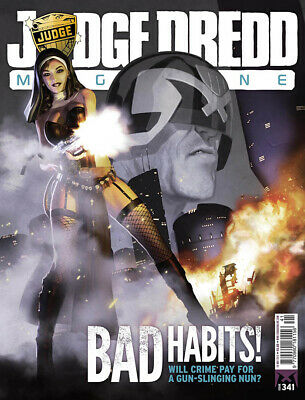 JUDGE DREDD - THE MEGAZINE - ISSUE 341 with SUPPLEMENT (2000AD) - NEW - 2013