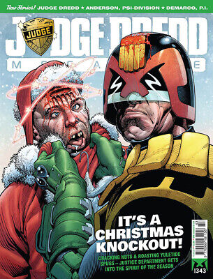 JUDGE DREDD - THE MEGAZINE - ISSUE 343 with SUPPLEMENT (2000AD) - NEW - 2014