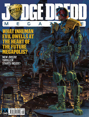 JUDGE DREDD - THE MEGAZINE - ISSUE 345 with SUPPLEMENT (2000AD) - *NEW - 2014
