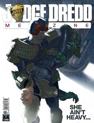 JUDGE DREDD - THE MEGAZINE - ISSUE 346 with SUPPLEMENT (2000AD) - *NEW - 2014