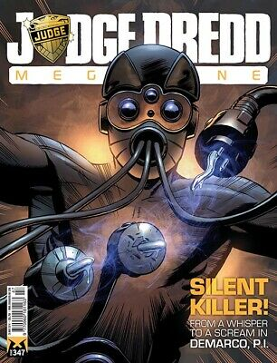 JUDGE DREDD - THE MEGAZINE - ISSUE 347 with SUPPLEMENT (2000AD) - *NEW - 2014