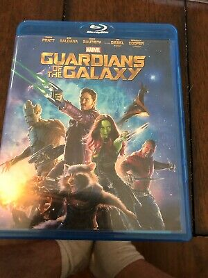 Guardians of The Galaxy Volume 1 Blu-ray 2d 3d