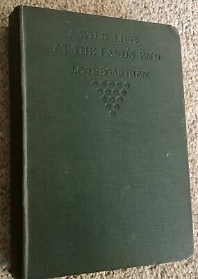 Wild Life at the Lands End 1922 by J C Tregarthen v rare Cornish book CORNWALL