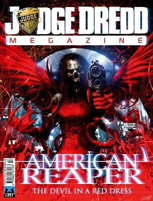 JUDGE DREDD - THE MEGAZINE - ISSUE 357 with SUPPLEMENT+ (2000AD) - NEW - 2015