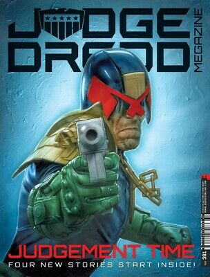 JUDGE DREDD - THE MEGAZINE - ISSUE 361 with SUPPLEMENT (2000AD) - *NEW - 2015