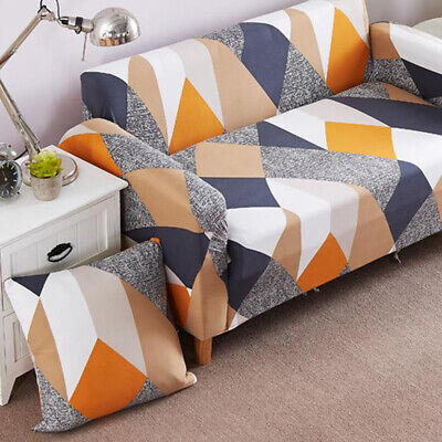 Stretch Fit Sofa Cover Lounge Couch Removable Slipcover Protector 1 2 3 Seater
