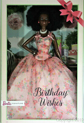 2019 Birthday Wishes Barbie Doll FXC76 IN STOCK NOW