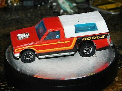Hot Wheels HiRAKERS Dodge D-50 Pickup Truck With Cap 1979 Red RARE