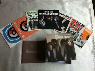 1 x Rolling Stones  CD Singles Collection  1963 -65   Boxset Box and 7  discs