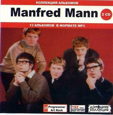 MANFRED MANN 2CD - Collection 13 MP3 Albums 1964-1999