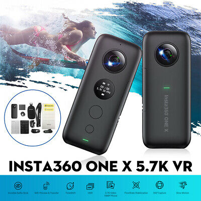 Insta360 One X 5.7K Video Action Camera VR 360 18MP Wi-Fi For iPhone Android
