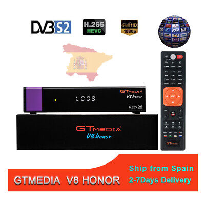 GTMEDIA V8 Honor 4K WIFI Receptore de TV por satélite H265 DVB-S2 HD Set Top Box