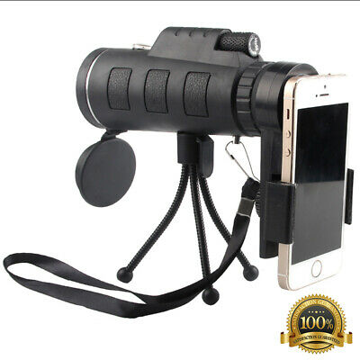 NEW 40X60 Telescope Scope Zoom Mobile Phone Lens for Smartphone Camera Camping
