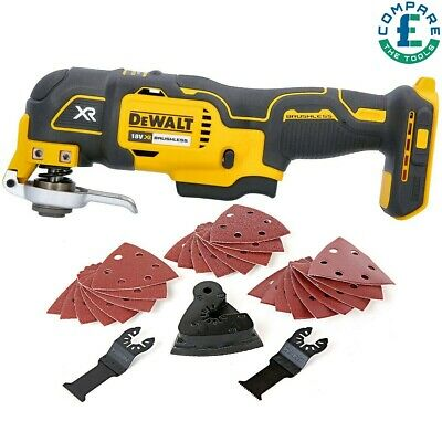 Dewalt DCS355N 18V Brushless Oscillating Multi-tool + 29 Piece Accessories Set