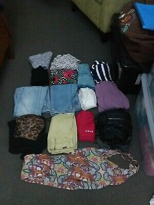 Bulk womens clothes size 8