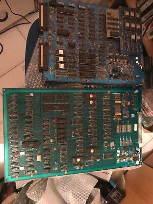 2 Pcb . Black Out Not Work + Not Title Not Test, Not Jamma Pcb,