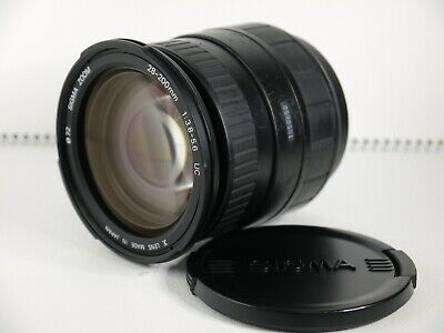 【Excellent+++】 Sigma 28-200mm f3.8-5.6 UC AF Lens For Minolta/Sony From Japan