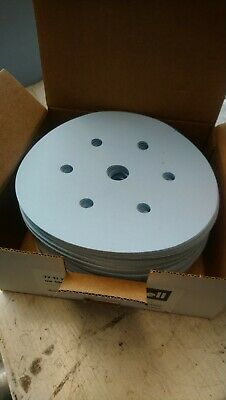SANDING PAPER DA BOX 100 DISCS 6inch 150mm HOOK LOOP ABRASIVE 180 220 280 400