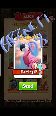 Coin Master Cards Flamingo. Fast Delivery!!!Bazznett08 100% positive trusted!!