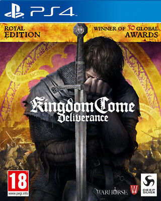 Kingdom Come Deliverance Royal Edition (PS4) BRAND NEW AND SEALED - IN STOCK