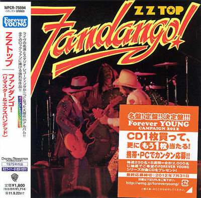 ZZ TOP - FANDANGO (EXPANDED & REMASTERED) ( MINI LP AUDIO CD with OBI )