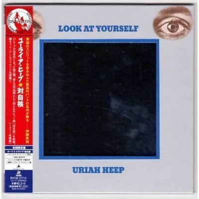 URIAH HEEP - Look at yourself ( MINI LP AUDIO CD with OBI and MIRROR COVER )