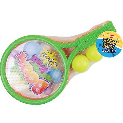 4pc Kids Tennis Ping Pong 28cm Racket Paddle Ball Set Toy Outdoor Sports Game