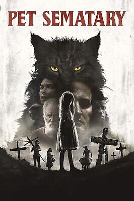 Pet Sematary [DVD] [2019] NEW* Horror, Thriller * PRE-SALE SHIPS ON 07/09/19