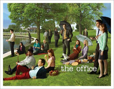 The Office Georges Seurat Painting Dunder Mifflin Cast Group Workplace Comedy...