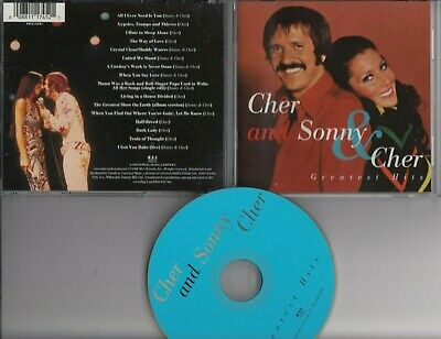 SONNY AND CHER Greatest Hits 1998 CD MCA USA MINT freepostworldwide