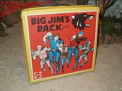 Big Jim Abenteuer Box -  Adventure Wolf Pack Case / Mallette de transport 9672