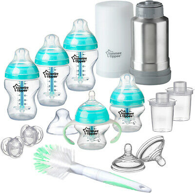 Tommee Tippee Baby Bottle Feeding Gift Set Advanced Anti Colic Newborn Brand New