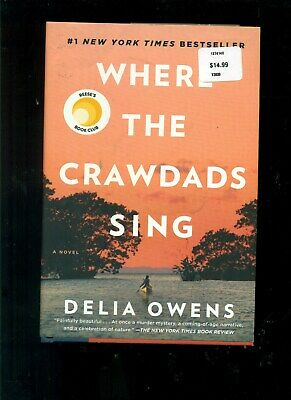 Where the Crawdads Sing Delia Owens Hardcover