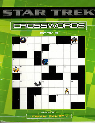 Star Trek Crosswords Book 3 Puzzles