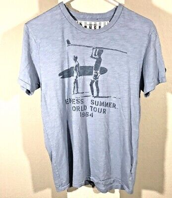 New Mens The Endless Summer Bruce Brown Film White Cover Art T-Shirt Tee XS-3XL